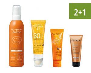 Apotheek Soete - zonnecreme en zonneproducten - Bescherm je tegen de zon! - 2+1 gratis