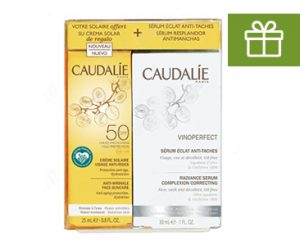 Apotheek Soete - Caudalie serum vinoperfect Met gratis zonnecrème! - Promotie