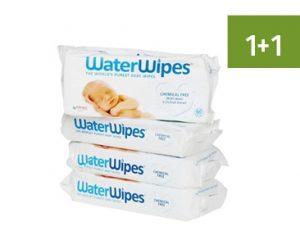 Apotheek Soete - Waterwipes - promotie 1+1 gratis