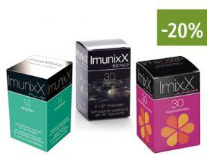 Apotheek Soete - ImunixX - 20% korting